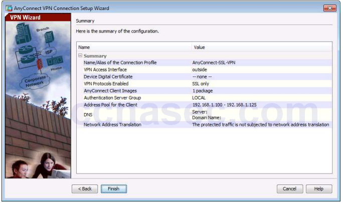 10 3 1 2 Lab D - Configure AnyConnect Remote Access SSL VPN Using